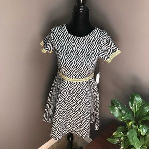 New Laundry By Shelly Segal Womens Skater Dress